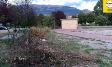 """Sora, M5S: """"Parco giochi e area in via Lungoliri della Monica, un degrado pericoloso"""""""