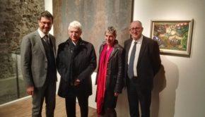 """Frascati: inaugurata con successo alle Scuderie Aldobrandini la mostra """"Altre Stanze. Anni '50 e '60."""""""