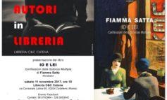 """Colleferro, sabato 11 novembre 2017 verrà presentato il libro """"Io e Lei"""" di Fiamma Satta"""