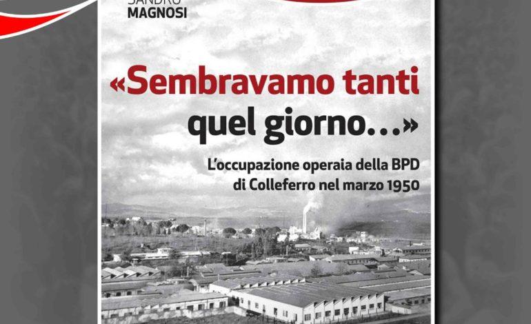"""Segni, l'11 novembre 2017 presentazione del libro di Sandro Magnosi sull'occupazione della BPD: """"Sembravamo tanti quel giorno…"""""""