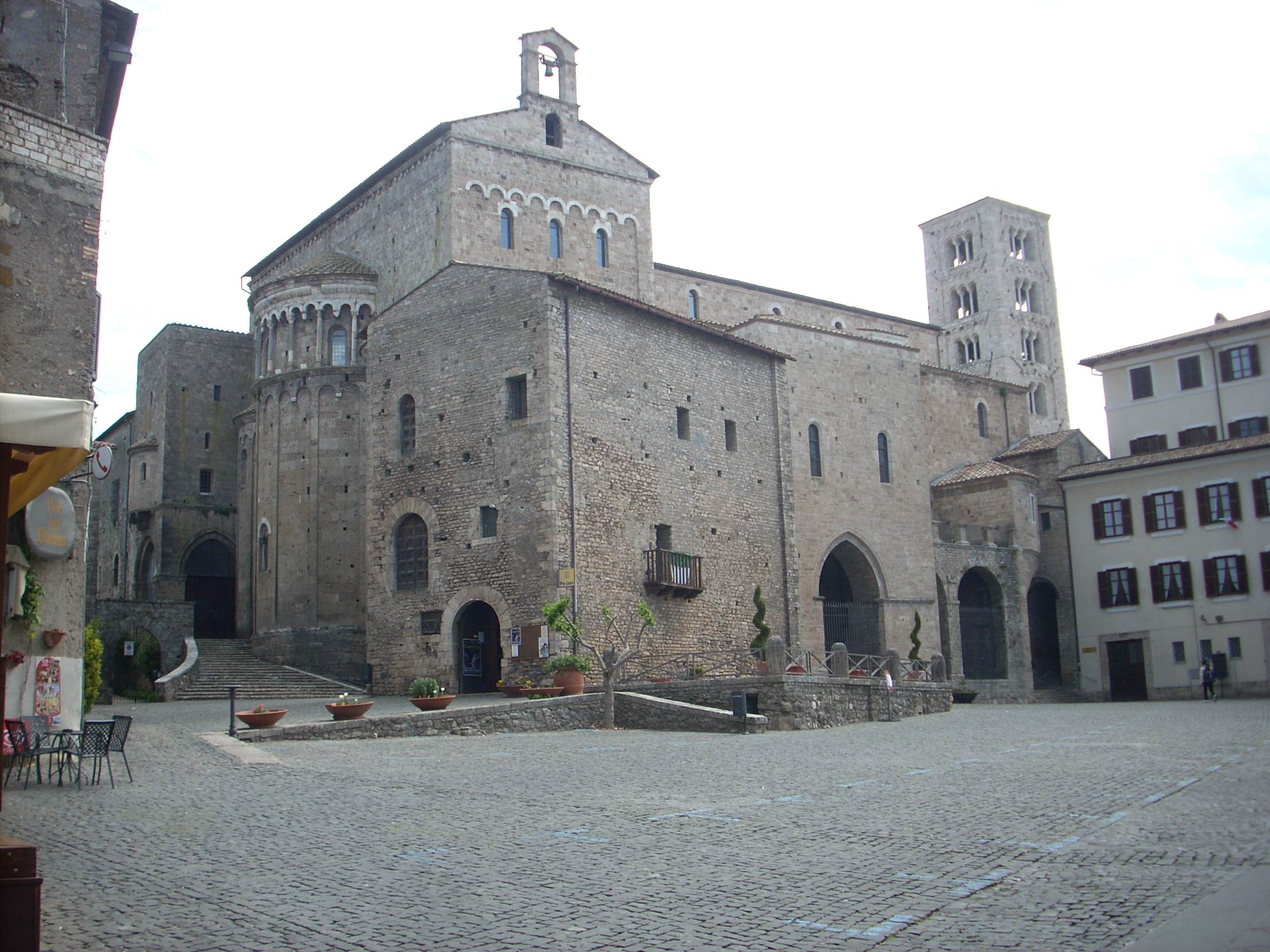 Anagni. Al via i lavori di Piazza Innocenzo III. Tutti i dettagli