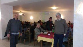 Ferentino, pranzo di Natale 2017 del Comitato Le Vigne con il Sindaco Pompeo