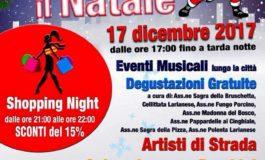 Lariano, domenica 17 dicembre ci sarà la Notte Bianca: negozi aperti, artisti di strada, musica e degustazioni gratuite