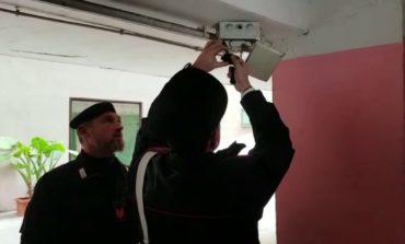 Ostia, scoperte in via Forni 12 telecamere che monitoravano l'arrivo dei carabinieri e due arresti per detenzione e spaccio di stupefacenti (FOTO)