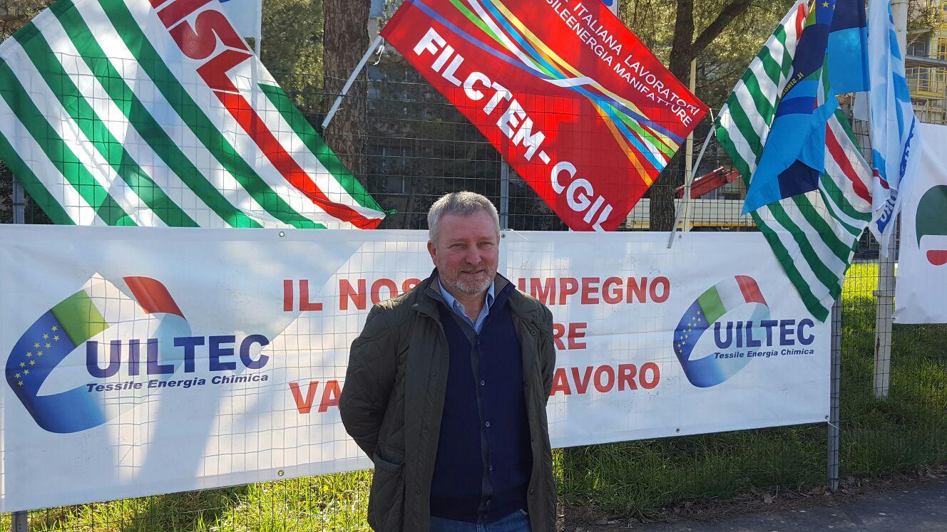 """Ideal Standard di Roccasecca, Piscitelli (Uiltec Uil): """"Chiediamo l'immediato ritiro della procedura di chiusura"""""""