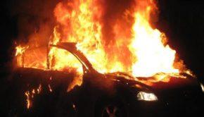 Auto in fiamme sulla A1 Roma - Napoli tra Anagni, Fiuggi e Colleferro