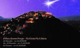 Castro dei Volsci, Il Paese diventa Presepe 2017: torna la manifestazione di Natale più attesa della Ciociaria