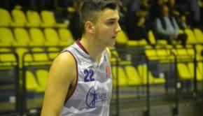 """Club Basket Frascati (C Gold), il giovane Fiorentino: """"Sto vivendo una grande esperienza"""""""