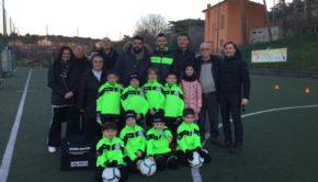 """Sporting San Cesareo, il club porta nelle scuole l'iniziativa """"Diamo un calcio al bullismo"""""""