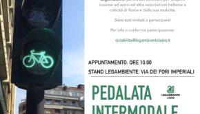 Roma, pedalata intermodale per la domenica ecologica dell'11 febbraio: partenza dal Colosseo per apprezzare la Capitale