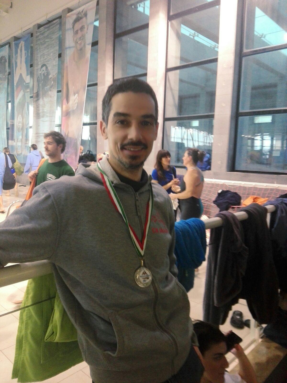 Centro Nuoto Anagni, argento per Giuliano Scafoni ai Campionati Regionali Master 2018