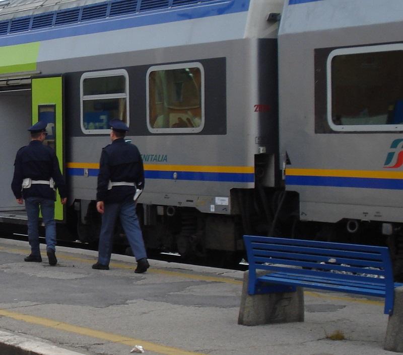 Roma, controlli della Polizia di Stato presso le varie Stazioni Ferroviarie: un arrestato e 2 denunciati