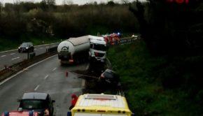 pontina incidente camion gpl