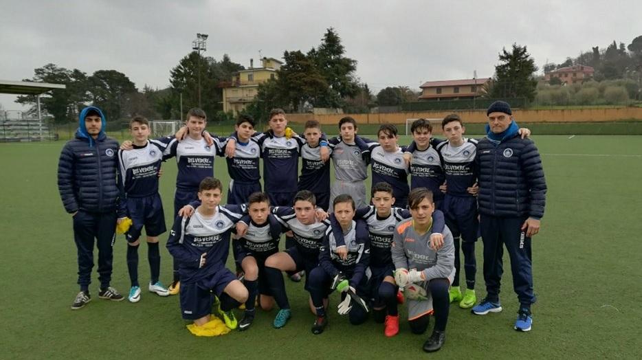 Ssd Colonna (calcio, Giovanissimi prov. B) affonda Real Rocca di Papa. Fiorenza: «Un'impresa»