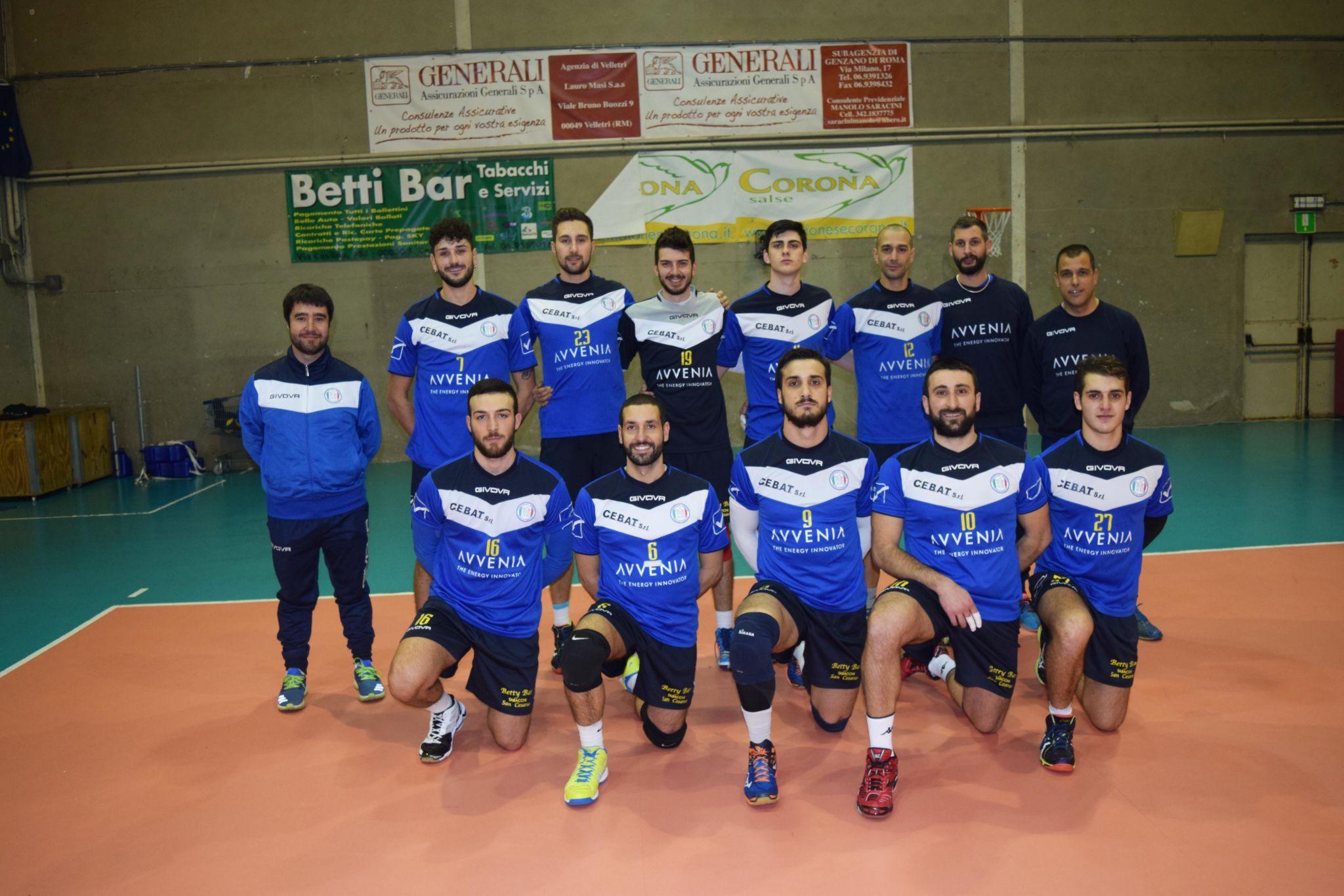 Pallavolo, Campionato regionale serie C maschile: vittoria in zona play off per la Puntovolley Libertas Genzano