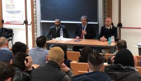 All'ottava edizione del CARRERDAY dell'Ateneo di Cassino presente la Polizia di Stato