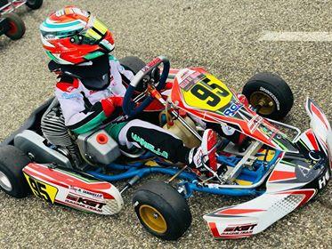 Il pilota di Grottaferrata Riccardo Ianniello terzo alla Rok Cup Area Nord