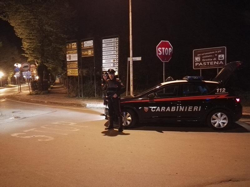 Pontecorvo, controlli dei Carabinieri: 4 denunce per guida in stato d'ebrezza