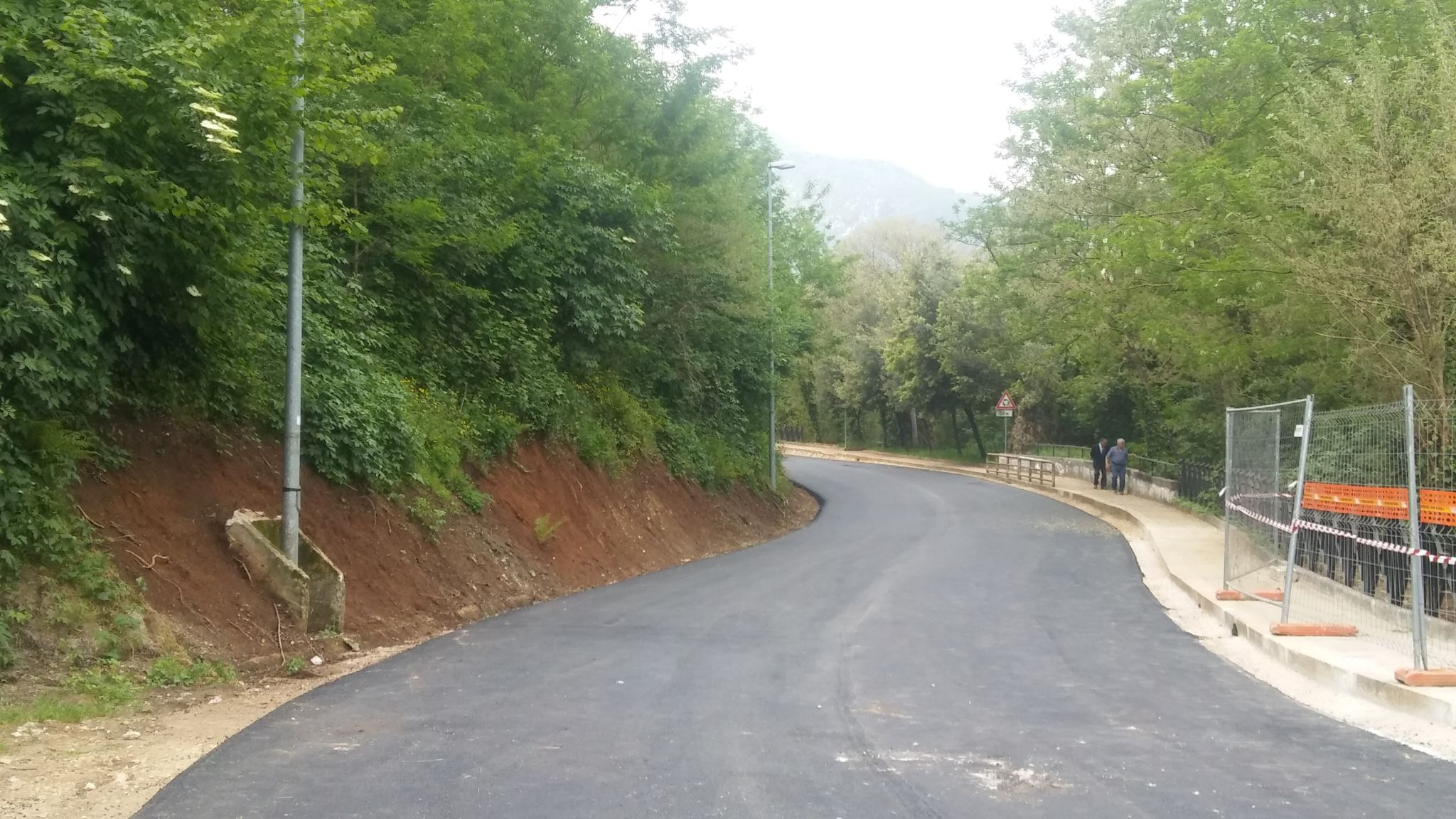 Supino, riaperta la strada provinciale via La Mola (FOTO)