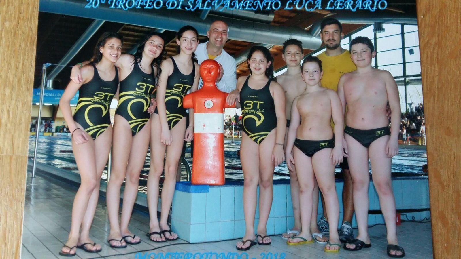 """3T Frascati Sporting Village (salvamento), poker di medaglie per Alice Pezza al trofeo """"Lerario"""""""