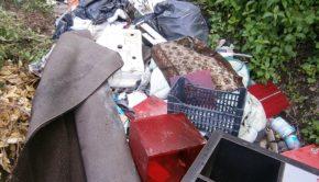 pomezia abbandono rifiuti