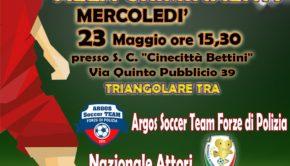"""Municipio VII, triangolare un """"Calcio alla criminalità"""": dopo le violenze alla Romanina una festa di solidarietà"""