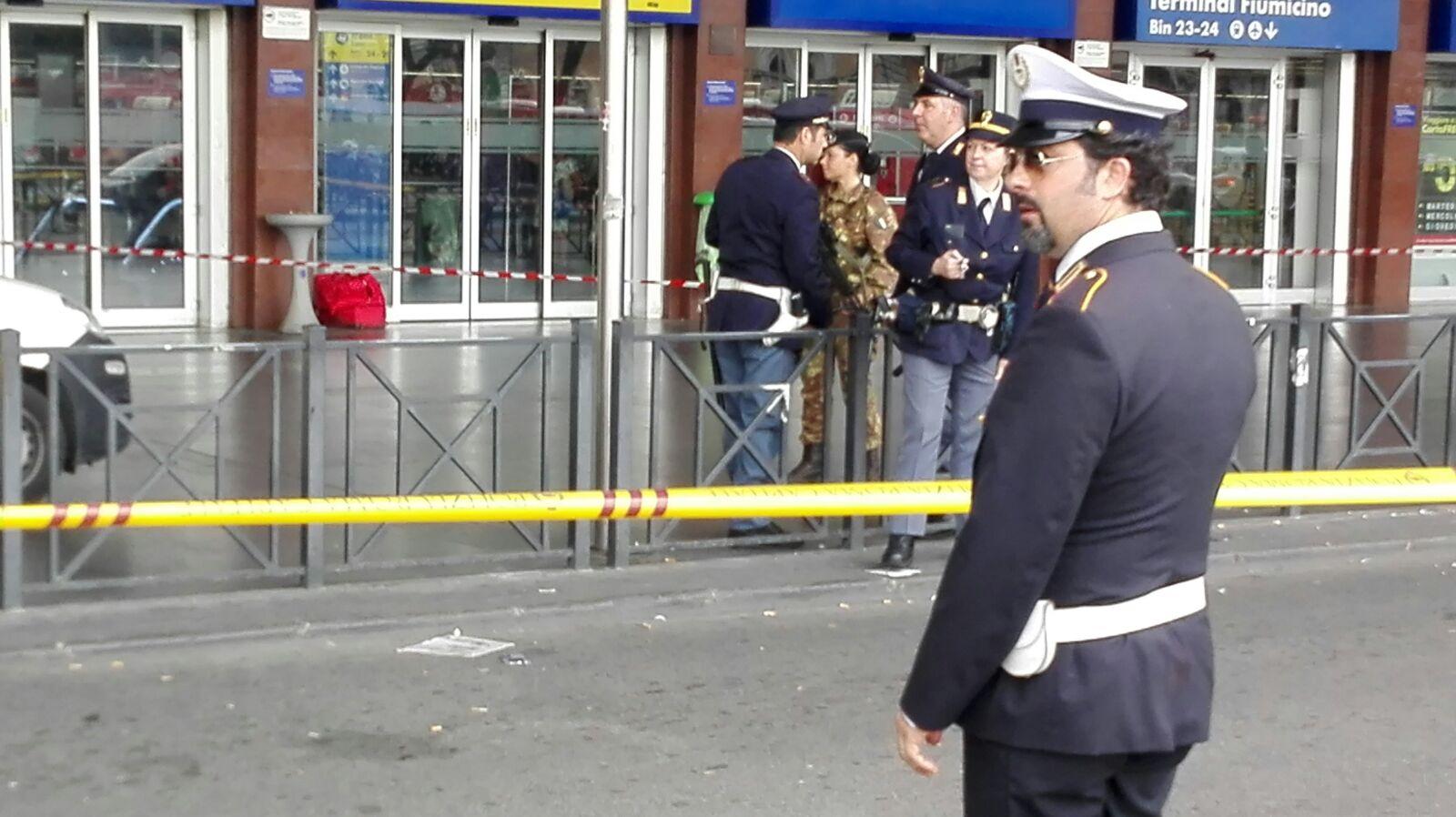 Allarme bomba a Termini: ecco cosa è successo