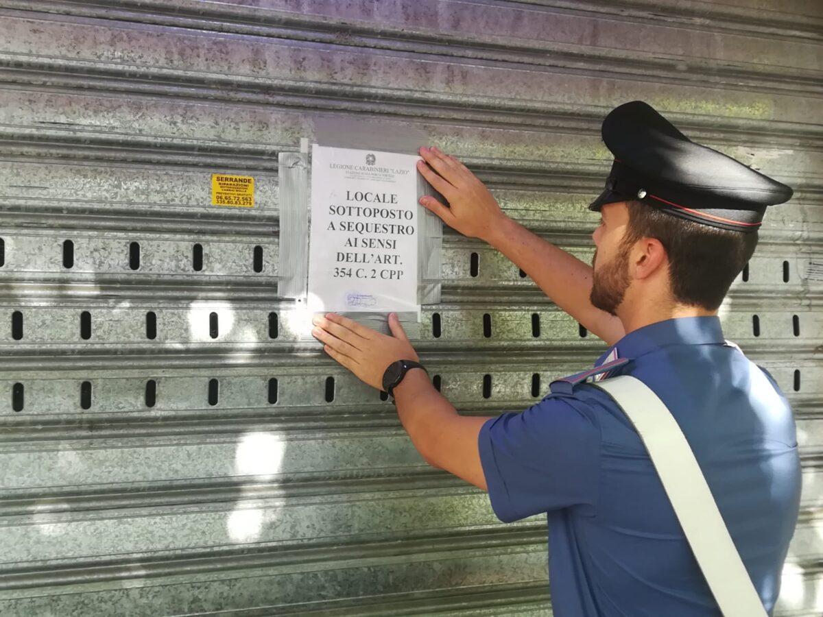 """Sequestrato """"Bar dello stupefacente"""" a Porta Portese: arrestati titolare e barista per spaccio di droga"""