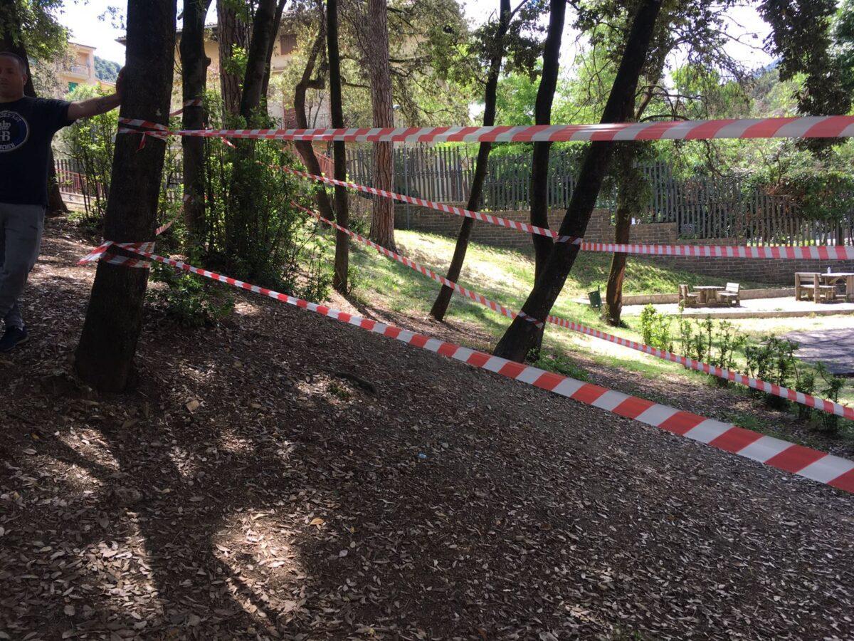 Carpineto Romano, rimosso l'ordigno bellico rinvenuto ieri. Riaperto Parco Unità d'Italia