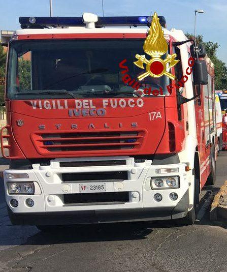 Genzano, incidente tra due autocarri in via Fatebenefratelli: feriti gli autisti