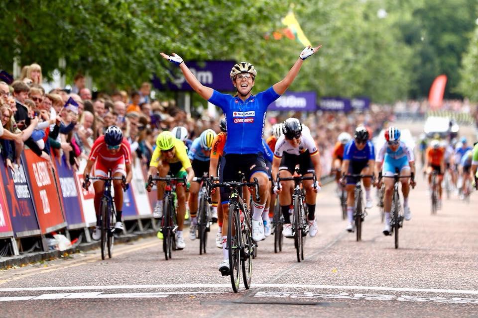 Lariano, medaglia d'oro agli Europei di ciclismo per Marta Bastianelli