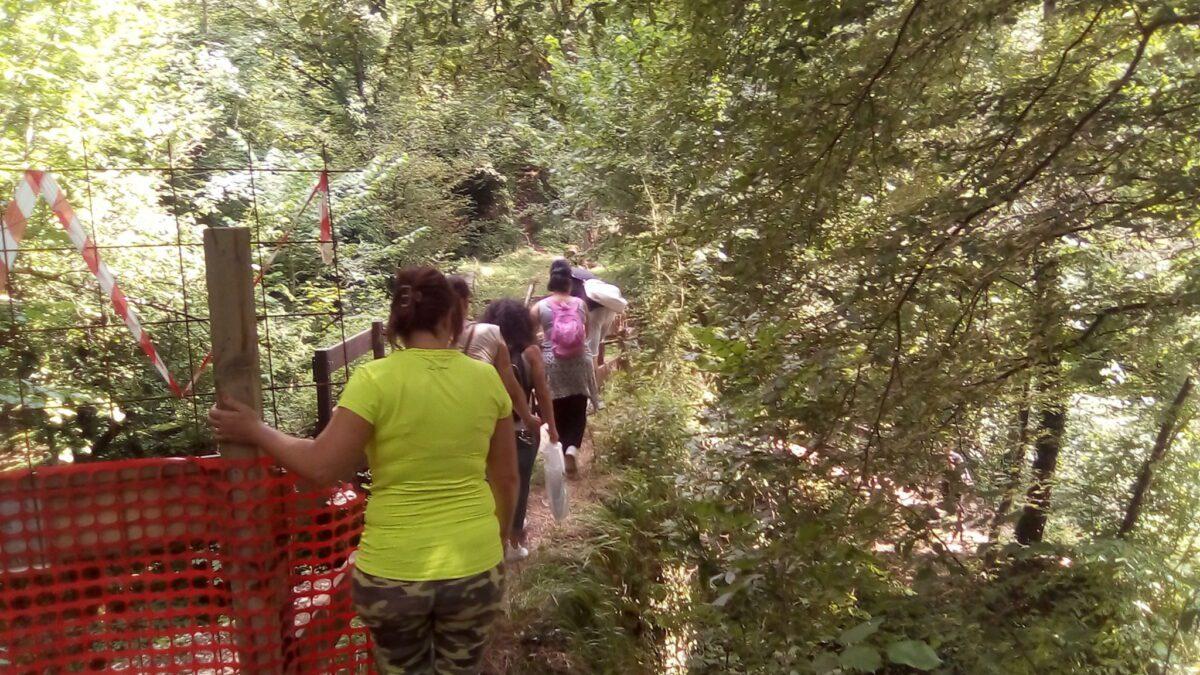 """Comitato per l'Aniene: """"Il ponte crollato a Comunacque è un pericolo per i turisti"""""""
