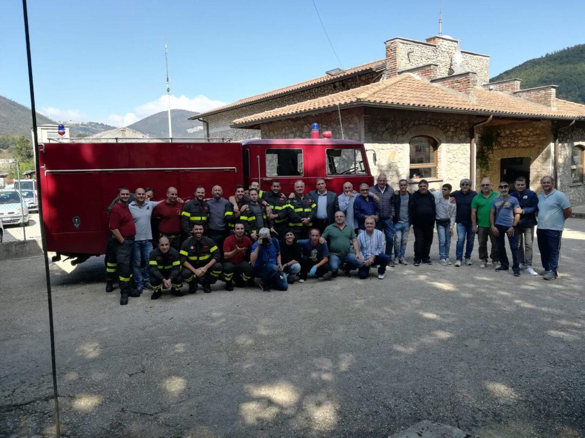 Montelanico, festeggiati i venti anni del Distaccamento Volontari dei Vigili del Fuoco
