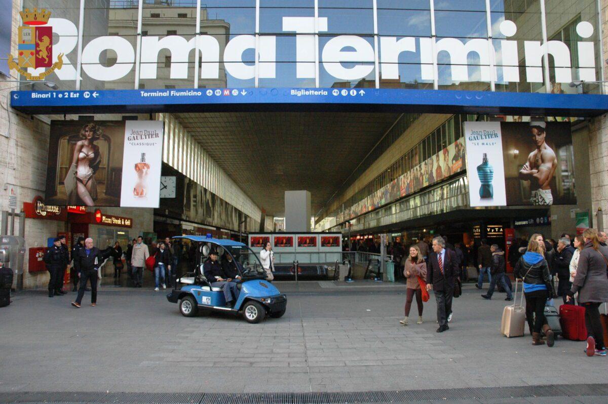 Roma Termini, denunciato un 38enne ubriaco per atti osceni su un regionale