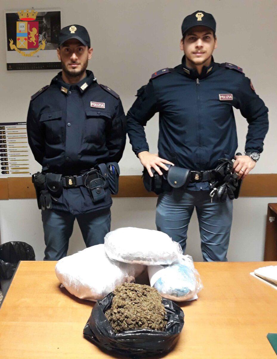 Porta Maggiore, sequestrati 7 kg di marijuana e arrestati cinque pusher: spacciavano nel quartiere Prenestino-Labicano