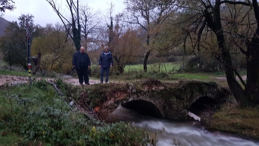 trevi nel lazio ponte romano