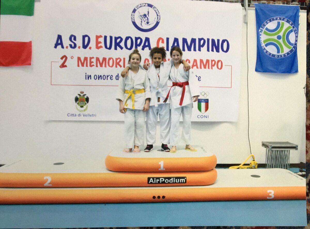 """L'Asd Judo Frascati è stata protagonista anche al secondo memorial """"Gianni Campo"""", scorso fine settimana al PalaBandinelli di Velletri"""