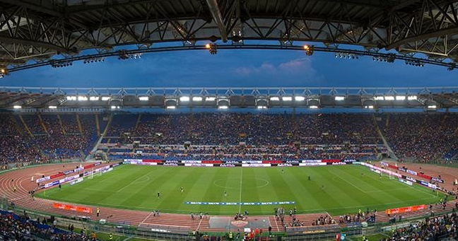 Olimpico Champions AS Roma -Real Madrid