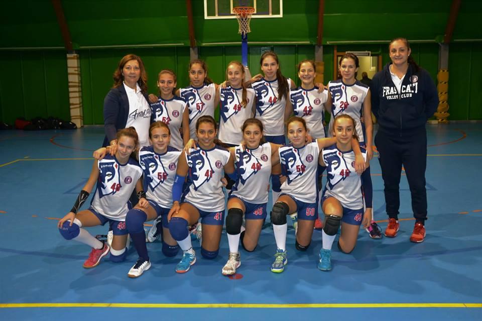"""Volley Club Frascati, Granati sull'U14 Elite: """"Gruppo come una famiglia"""""""