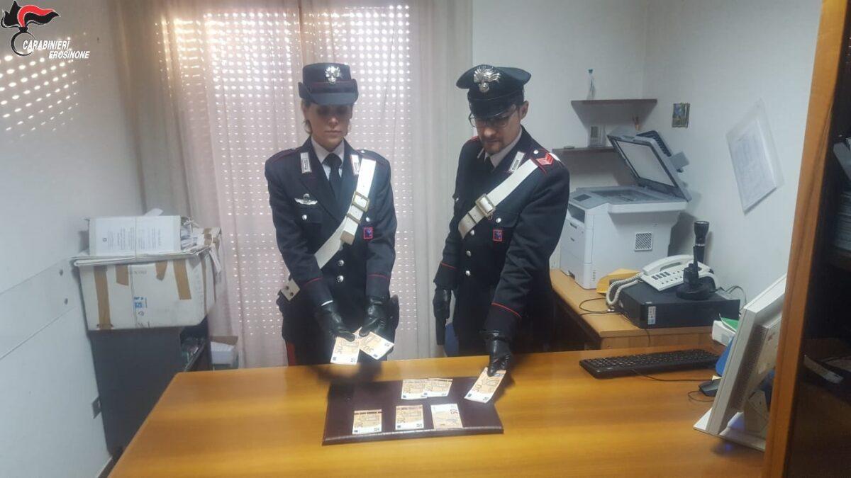 #Cassino, truffavano i negozianti con banconote false. In manette due persone
