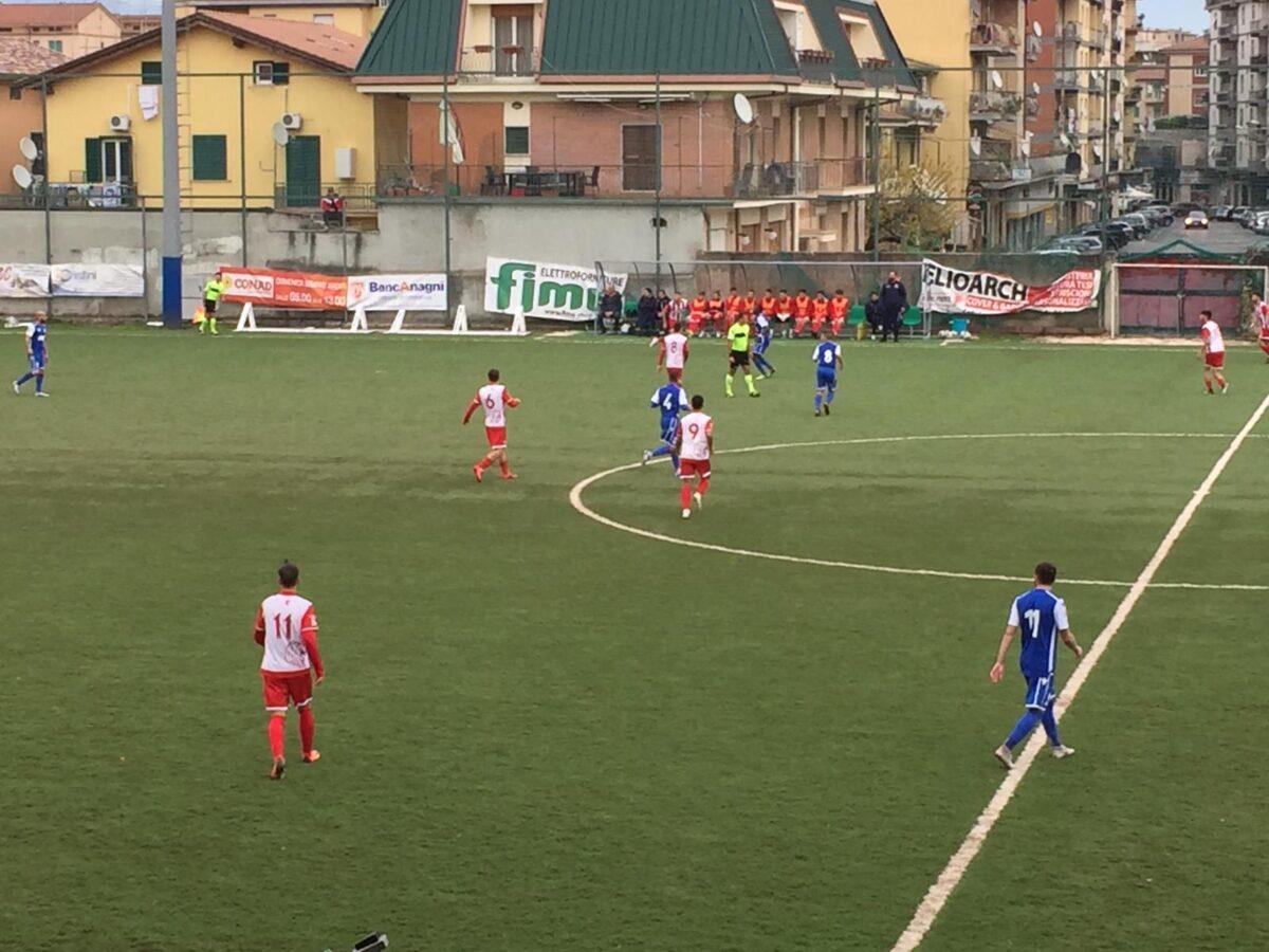 Calcio. A Colleferro, Anagni e Budoni pareggiano 1 a 1