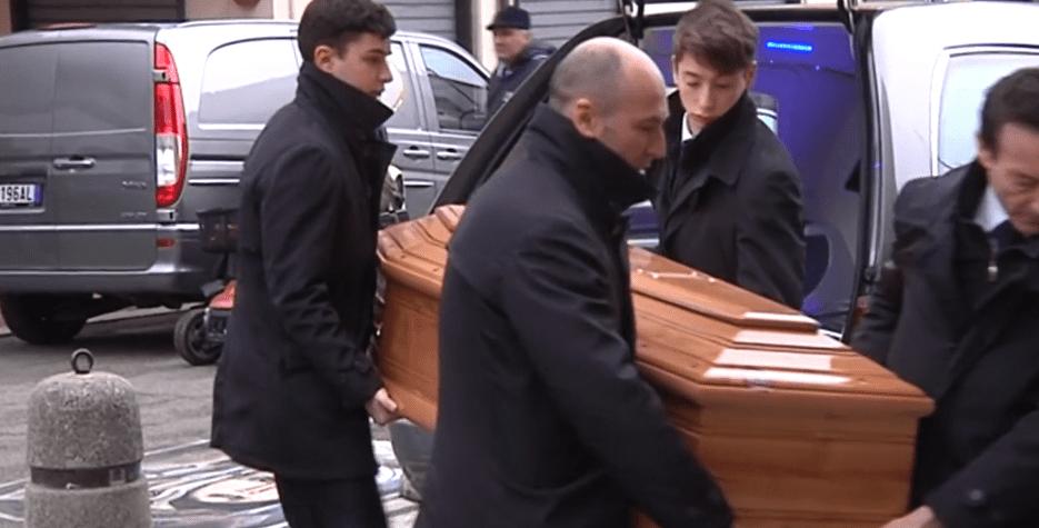 Colleferro, a Santa Barbara si sono tenuti i funerali di Alberto Giannetti