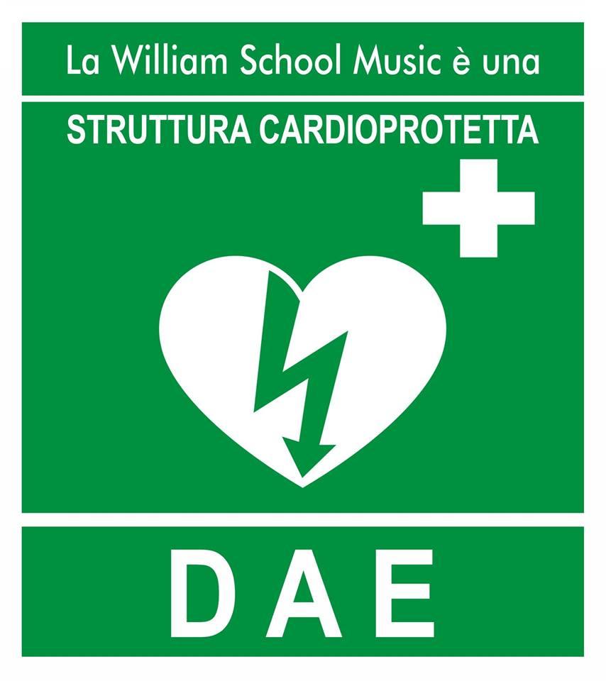 Torre Maura, la scuola di musica William School Music si dota di un defibrillatore a disposizione degli allievi