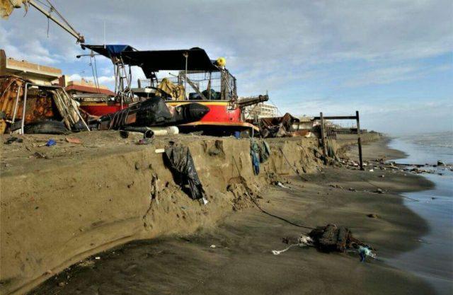 pomezia erosione costiera