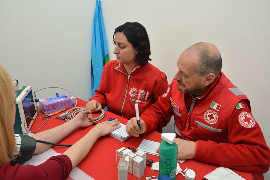 Frosinone Uil Croce Rossa prevenzione