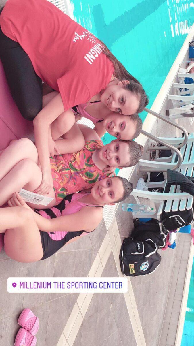 Ripresa attività agonistica degli atleti della Piscina Comunale di Olevano Romano e del Centro Nuoto Anagni: i posizionamenti (FOTO)