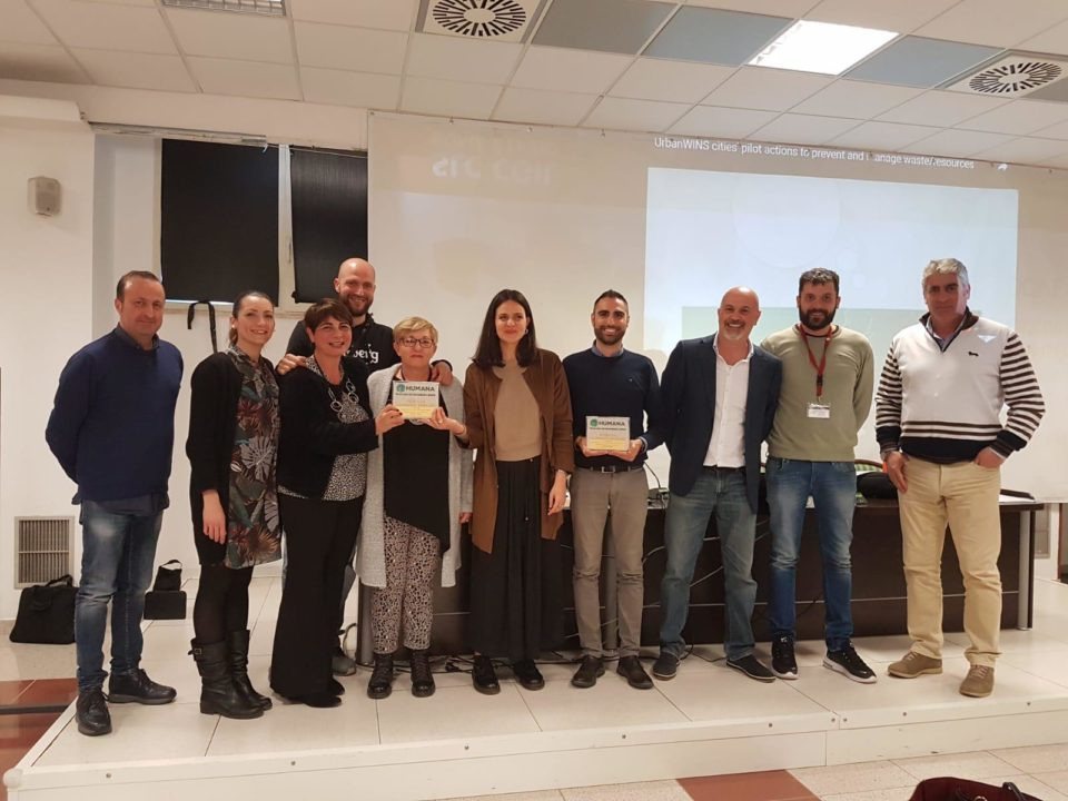 pomezia Humana Eco-Solidarity Award 2019
