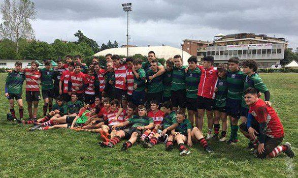 Colleferro Rugby 1965, soddisfazione per i risultati ottenuti dai giovani dell'under 16 e 18