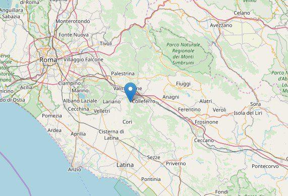 Artena, scossa di terremoto oggi sabato 11 maggio 2019 ore 13:00