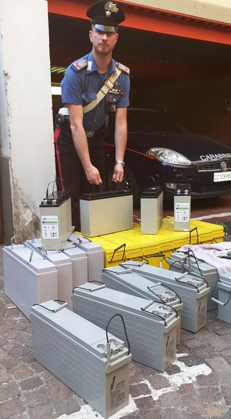 Colleferro, ruba le batterie da un ripetitore telefonico: arrestato